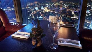 Устрой ей романтичное свидание! Ужин для двоих от шеф-повара в ресторане Vision на 75 этаже Москва-Сити! Скидка 50%!