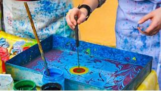 Все скидки! Скидка 87% на онлайн-курс по рисованию на воде «Эбру» от творческой онлайн-школы MagicHands!