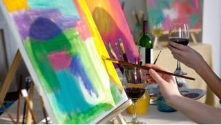 Арт пространство для тебя! Посещение арт-вечеринки для одного, двоих или троих человек с предоставлением художественного инвентаря!