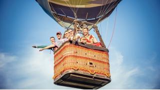 Полет на воздушном шаре от клуба Best Flight в Подмосковье! Для одного, двоих или четверых! Детям тоже можно! Скидка до 55%!