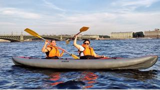 Мечтай с нами! Прогулки на байдарках по каналам Санкт-Петербурга от компании «Мечта»! Скидка 56%!