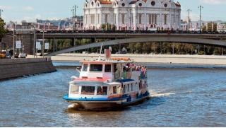 Программа «Москва златоглавая»! Речная прогулка на теплоходе от судоходной компании «Августина»! Скидка 50%!