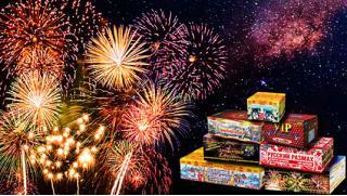Новый Год купоны! Пиротехника от интернет-магазина «Рус-Салют»: батареи салютов, хлопушки, бенгальские огни, римские свечи!