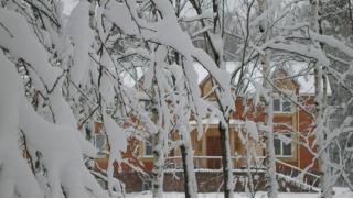 Новогодние праздники в лесу! 4 дня/3 ночи (с 3 по 6 января) для двоих на Базе Сафари Паркъ со скидкой 58%!
